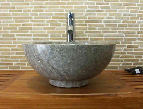 waschbecken aus marmor grau sch nes f r ihr bad bafs13. Black Bedroom Furniture Sets. Home Design Ideas