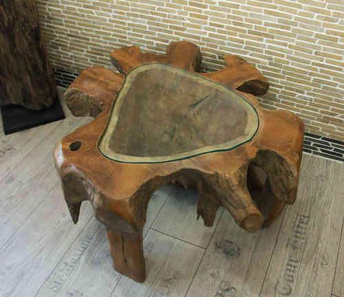 teakholz tische wurzelholz sch nes zum wohnen f r wohnung und garten. Black Bedroom Furniture Sets. Home Design Ideas