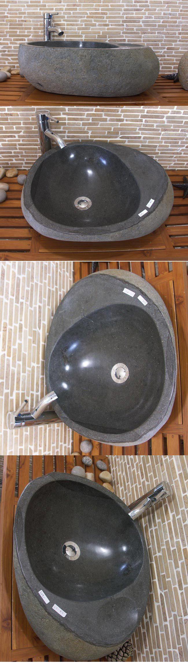 waschbecken aus flussstein bafs7 m4 ein unikat f r ihr bad. Black Bedroom Furniture Sets. Home Design Ideas