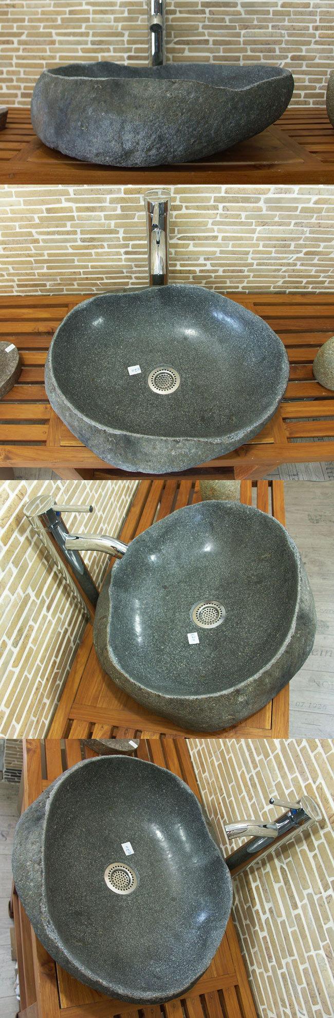 waschbecken aus flussstein bafs 20e ein unikat f r ihr bad. Black Bedroom Furniture Sets. Home Design Ideas