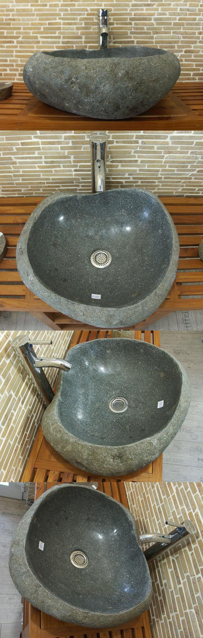 waschbecken aus flussstein bafs 22e ein unikat f r ihr bad. Black Bedroom Furniture Sets. Home Design Ideas