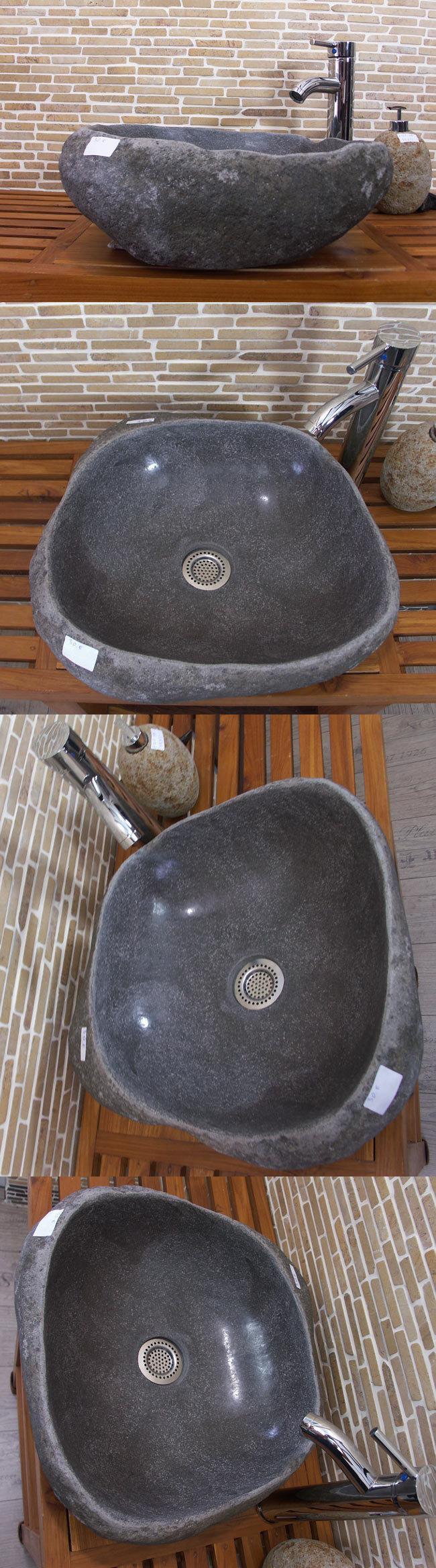 waschbecken aus flussstein bafs 30e ein unikat f r ihr bad. Black Bedroom Furniture Sets. Home Design Ideas