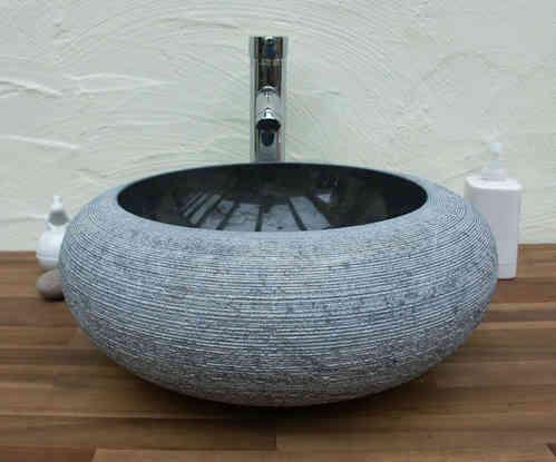 Waschbecken Aus Marmor Aussen Und Innen Poliert Ein Unikat