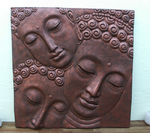 "Relief ""3 Buddhas""."