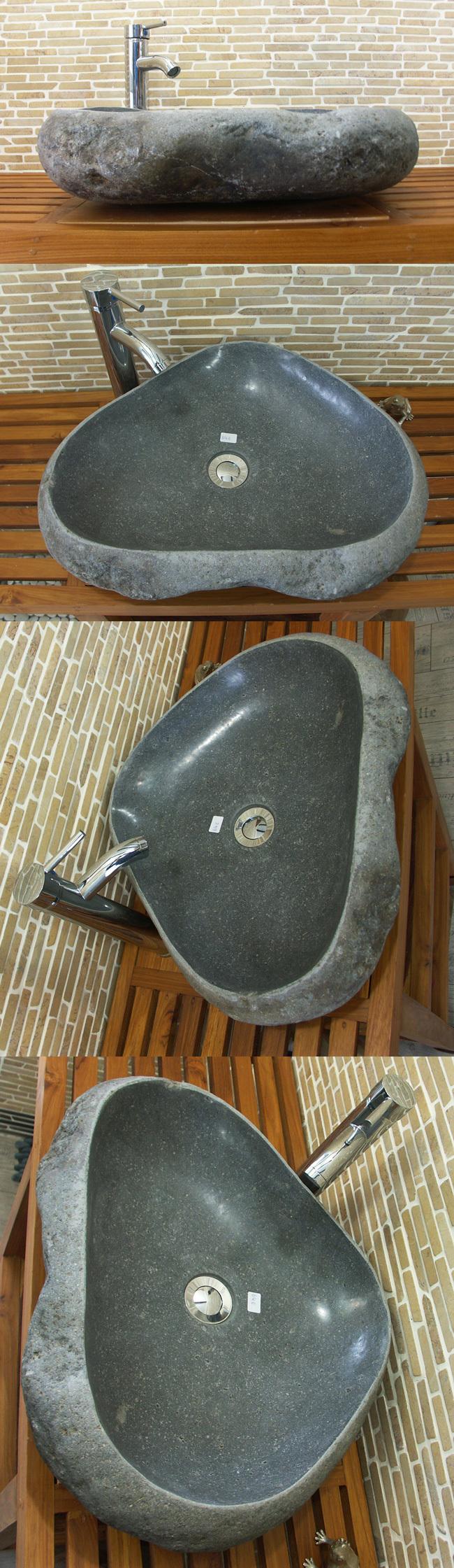 waschbecken aus flussstein bafs 64e ein unikat f r ihr bad. Black Bedroom Furniture Sets. Home Design Ideas